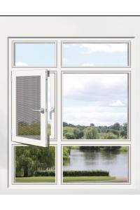 艾臣安全门窗 110断桥窗纱一体隔热窗