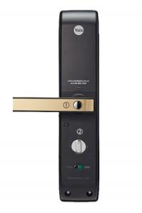 耶鲁指纹锁 家用电子锁智能电子密码刷卡电子锁
