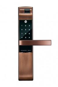 Yale耶鲁指纹锁 智能防盗电子锁 刷卡密码锁YDM4116