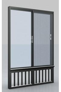 室内推拉窗-卧室防盗窗-光美系列推拉窗