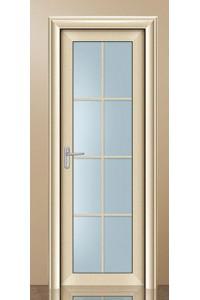 美之选门窗-室内平开门-卫生间门-铝合金平开门