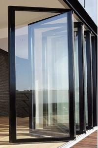 室内铝合金门窗 FD68铝合金折叠门 铝合金门窗加盟